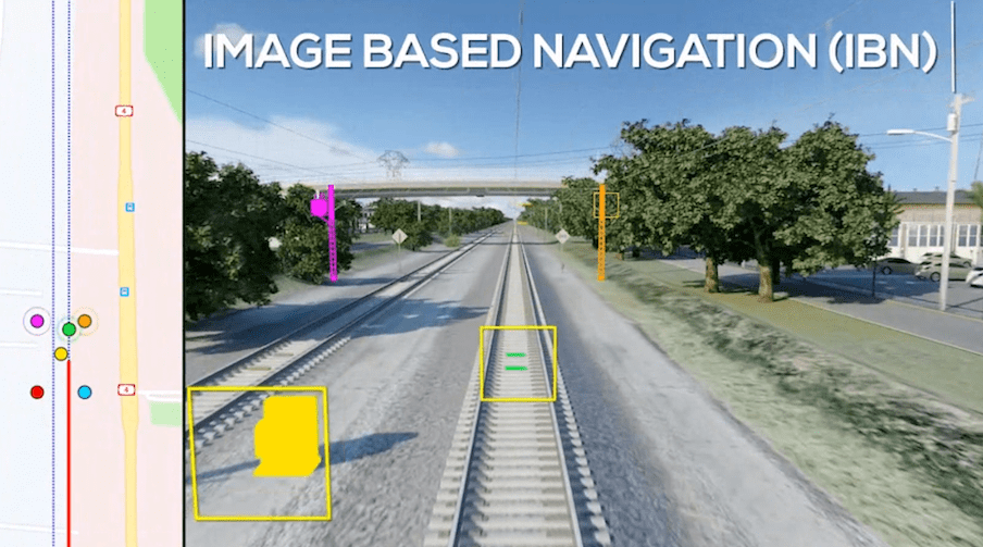 Rail Vision - Image Based Navigation