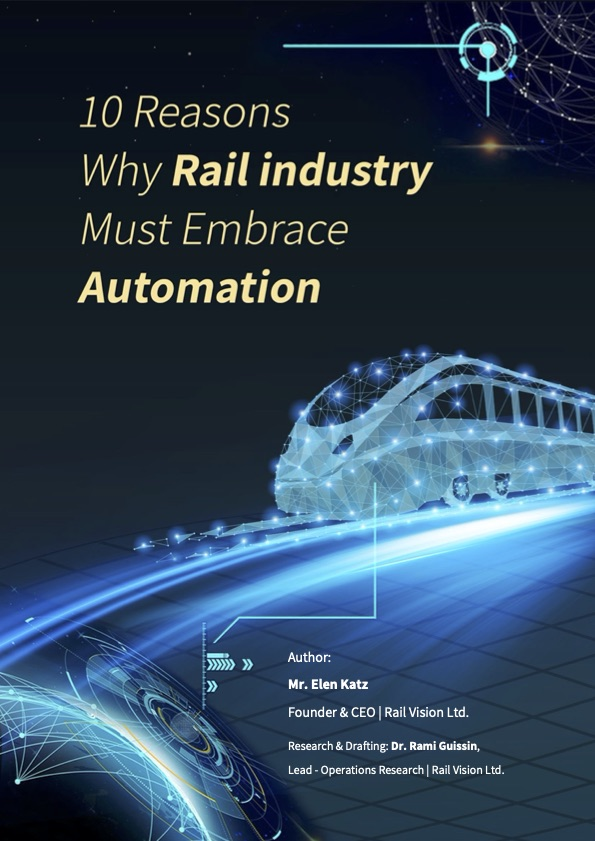 Rail Vision - Why the rail industry must embrace automation PDF Cover