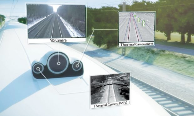 RailVision reveals new sensor technology