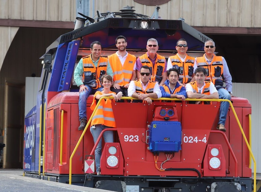 The Rail Vision team
